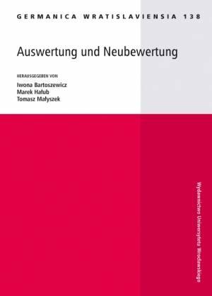 Germanica Wratislaviensia 138. - okładka książki