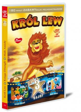 Król Lew / Księga Dżungli / Małe - okładka filmu