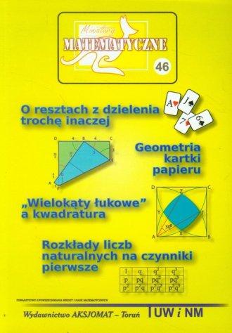 Miniatury matematyczne 46 - okładka książki