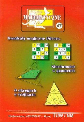 Miniatury matematyczne 47 - okładka książki