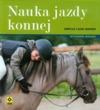 Nauka jazdy konnej - okładka książki