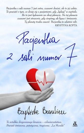 Pacjentka z sali numer 7 - okładka książki