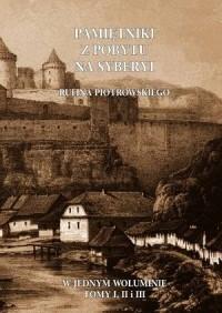 Pamiętniki z pobytu na Syberyi - okładka książki