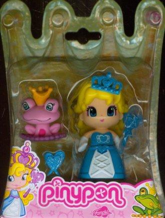 Pinypon. Księżniczka (niebieska - zdjęcie zabawki, gry