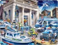 Policja (puzzle) - zdjęcie zabawki, gry