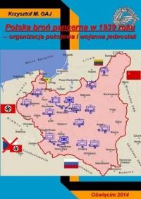 Polska broń pancerna w 1939 roku. - okładka książki