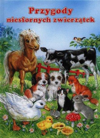 Przygody niesfornych zwierzątek - okładka książki
