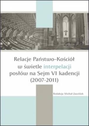 Relacje Państwo-Kościół w świetle - okładka książki