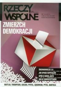 Rzeczy Wspólne nr 12 2/2013. Zmierzch demokracji - okładka książki