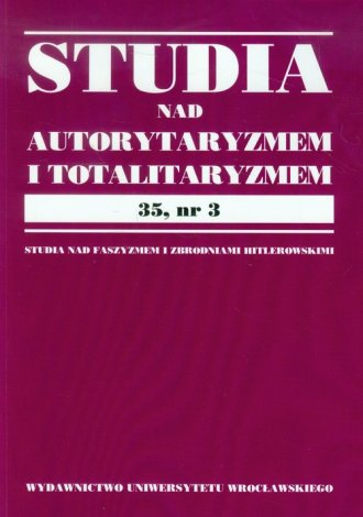 Studia nad autorytaryzmem i totaliryzmem. - okładka książki