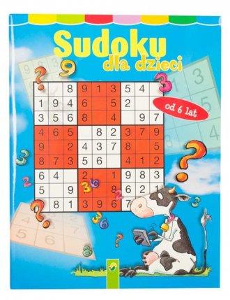 Sudoku dla dzieci - okładka książki