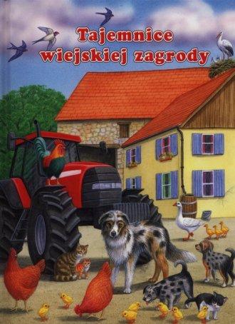 Tajemnice wiejskiej zagrody - okładka książki