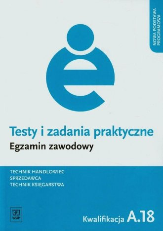 Testy i zadania praktyczne. Technik - okładka podręcznika