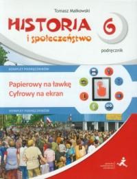 Wehikuł czasu. Historia i społeczeństwo. Klasa 6. Szkoła podstawowa. Podręcznik + Multipodręcznik - okładka podręcznika