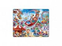 Wesołe miasteczko (puzzle) - zdjęcie zabawki, gry