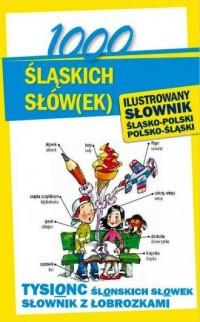 1000 śląskich słów(ek). Ilustrowany słownik polsko-śląski, śląsko-polski - okładka książki