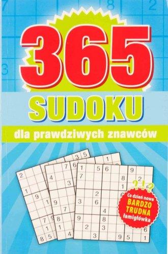 365 Sudoku dla prawdziwych znawców - okładka książki