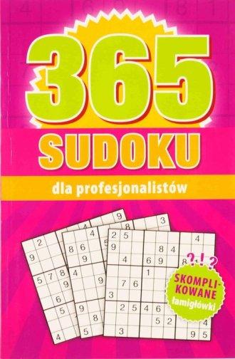 365 Sudoku dla profesjonalistów - okładka książki