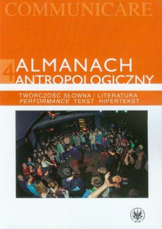 Almanach antropologiczny. Tom 4. - okładka książki
