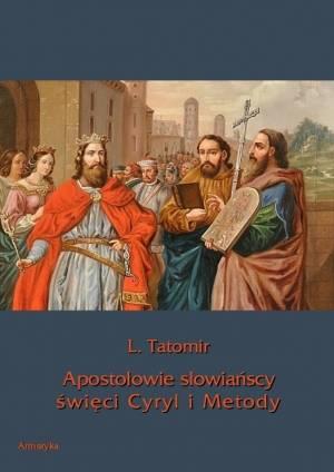 Apostołowie słowiańscy święci Cyryl - okładka książki