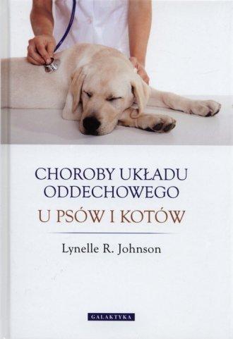 Choroby układu oddechowego u psów - okładka książki