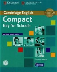 Compact. Key for Schools. Workbook - okładka podręcznika