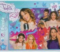 Disney Violetta. Zakręcony świat Violetty (puzzle 100-elem.) - zdjęcie zabawki, gry