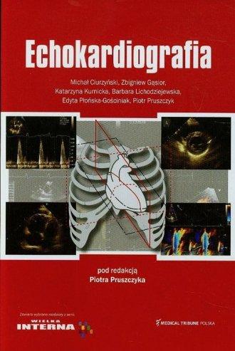Echokardiografia - okładka książki