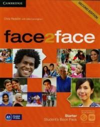 Face2face. Starter. Students Book Pack (+ CD). A1 English Profile - okładka podręcznika