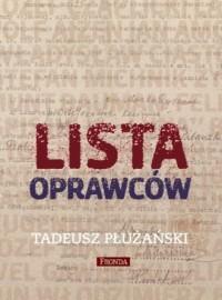 Lista oprawców - okładka książki
