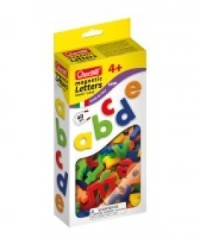 Litery magnetyczne (małe, polskie znaki, 40 elementów) - zdjęcie zabawki, gry