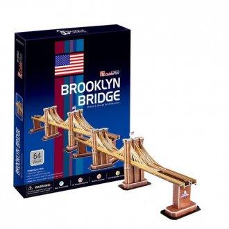 Most Brookliński (puzzle 3D 64- - zdjęcie zabawki, gry
