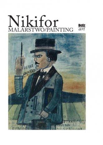 Nikifor - malarstwo - okładka książki