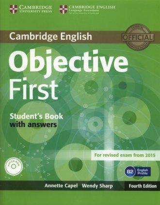 Objective First. Students Book - okładka podręcznika