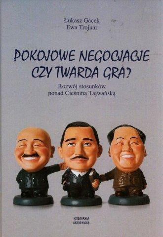 Pokojowe negocjacje czy twarda - okładka książki