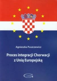 Proces integracji Chorwacji z Unią Europejską - okładka książki