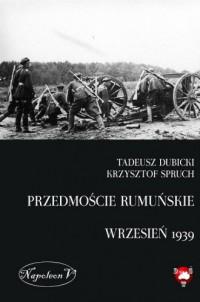 Przedmoście rumuńskie (wrzesień - okładka książki