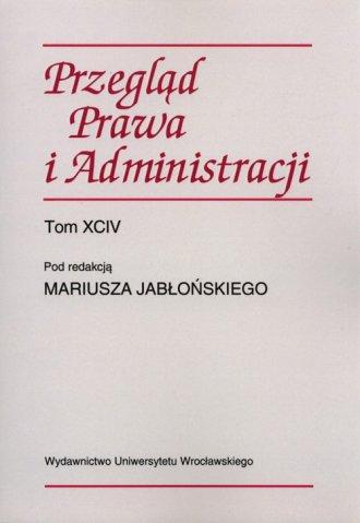 Przegląd Prawa i Administracji. - okładka książki