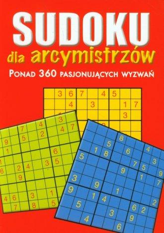 Sudoku dla arcymistrzów. Ponad - okładka książki