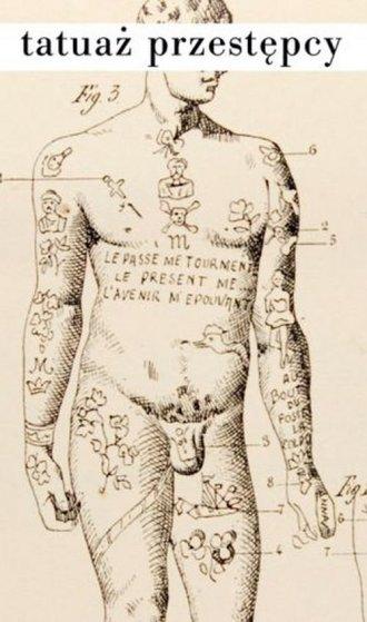 Tatuaż przestępcy - okładka książki