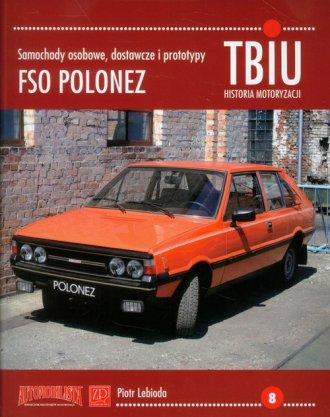 TBiU-8 FSO Polonez. Samochody osobowe, - okładka książki