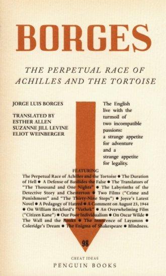 The Perpetual Race of Achilles - okładka książki