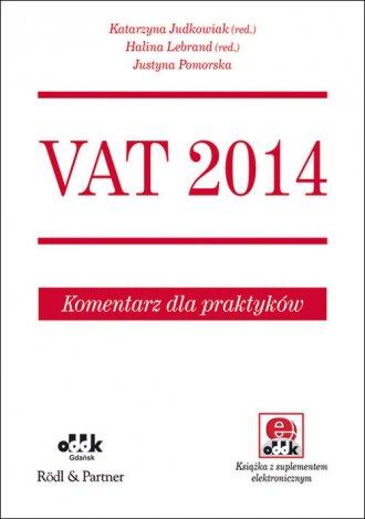 VAT 2014. Komentarz dla praktyków - okładka książki