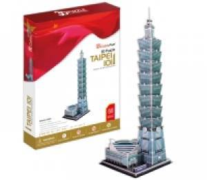 Wieżowiec Taipei (puzzle 3D 68- - zdjęcie zabawki, gry