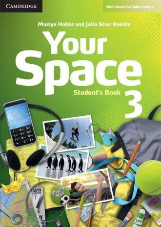 Your Space 3. Students Book - okładka podręcznika