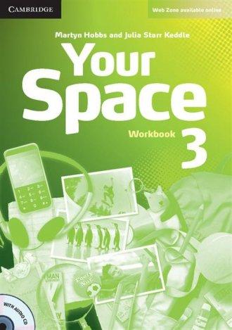 Your Space 3. Workbook (+ CD) - okładka podręcznika