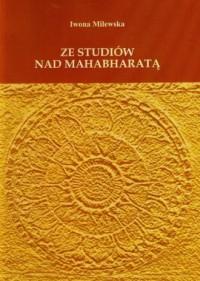 Ze studiów nad Mahabharatą - okładka książki