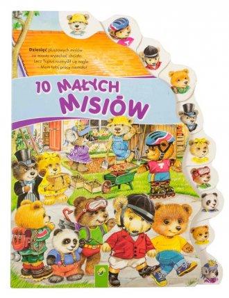 10 Małych misiów - okładka książki