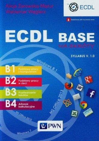 ECDL Base na skróty Syllabus V. - okładka książki