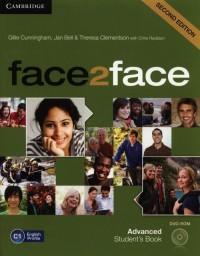 face2face 2ed. Advanced Students Book   DVD - okładka podręcznika